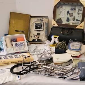 Lot #174 - OB-GYN Equipment, Super Good-Lite, Dr. Bag and More