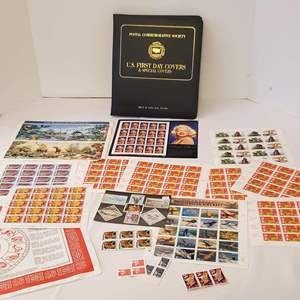 Lot #175 - Unused Stamps and U.S. First Day Covers Stamp Book