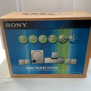 Lot #204 - Sony Home Theater System, NIB
