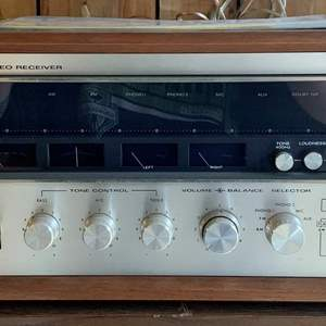 Lot #223 - Vintage Kenwood Am-Fm Stereo Receiver, Model Eleven III