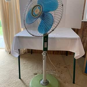 Lot #226 - Tatung Three Speed Super Floor Fan From Japan