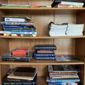 Lot #242 - Several Genres of Books, Vintage Yearbooks, Medical books and More (bookcase not included)
