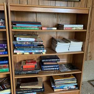 """Lot #243 - Nice Four Shelf Bookcase 36"""" x 12"""" x 47""""h (books not included)"""