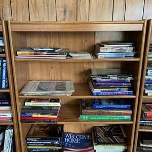 "Lot #246 - Bookshelf with Four Shelves 32"" x 12"" x 47""h"