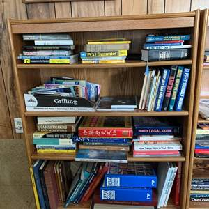 """Lot #249 - Four Shelf Bookcase 36"""" x 12"""" x 47"""" (books not included)"""
