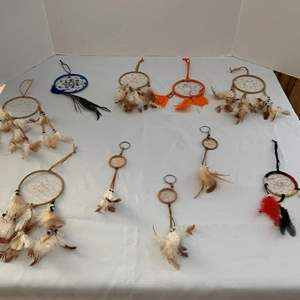 Lot #259 - Collection of Beautiful Dreamcatchers in Various Sizes