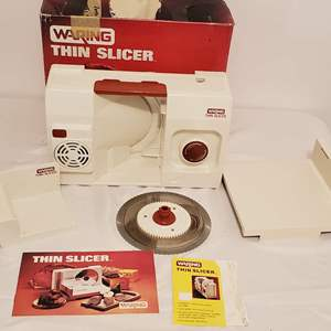 Lot #269 - Waring Thin Slicer Machine Model 11FS10 for Meats and Cheeses