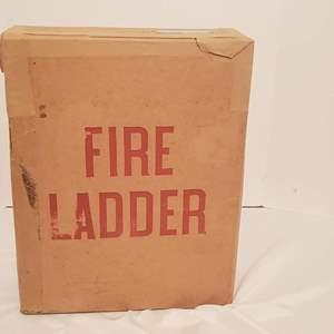 Lot #276 - Be Prepared...Fire Ladder