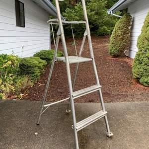 Lot #298 - Aluminum Step Ladder
