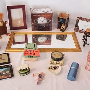 Lot #312 - Eclectic Mix of Decorative Items