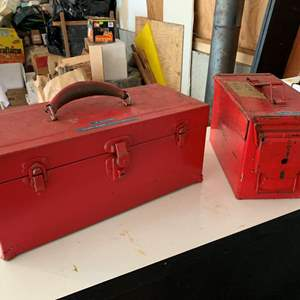 Lot #326 - Metal Boxes, One is Ammo, with All Contents