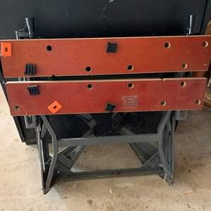 Lot #330 - Folding Shop Table