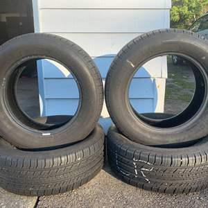 Lot #338 - Four BF Goodrich Advantage T/A 225/60/R16 Passenger Tires