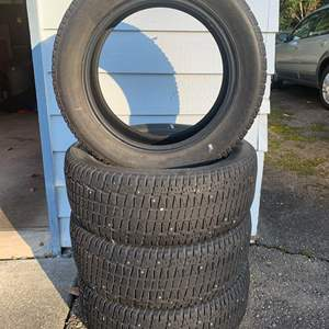 Lot #339 - Four Studded Snow Tires, Cooper Weather Master S 205/55/R16
