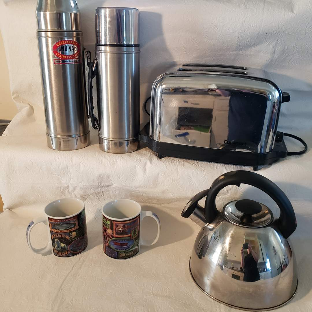 Lot#37 - Cuisinart Breakfast and Coffee Lot (main image)