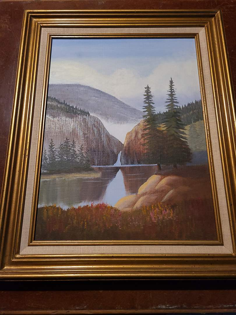 Lot#132 - Framed Oil on Canvas by Celia Bergevie (main image)