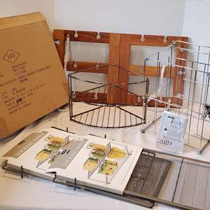 Auction Thumbnail for: Lot #177 - An Assortment of Organizers and Helpful Kitchen Items, See list