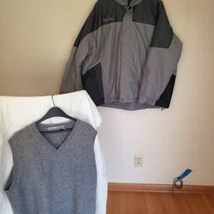 Lot # 84 - Men's Columbia Weather Proof Jacket * Wool Men's Vest