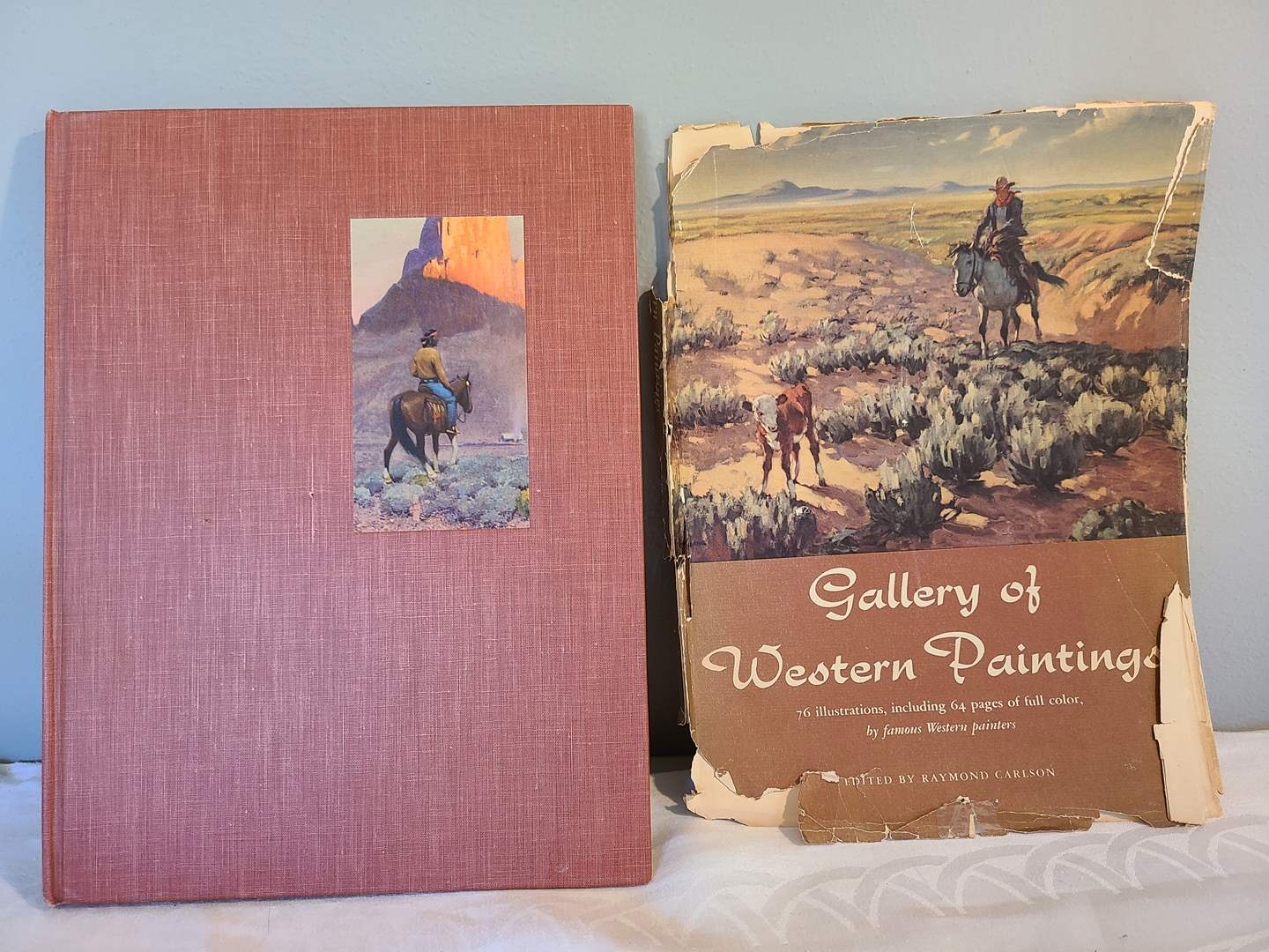 Lot # 128 - FIRST EDITION Gallery of Western Paintings Book 1951 (main image)