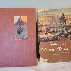 Lot # 128 - FIRST EDITION Gallery of Western Paintings Book 1951