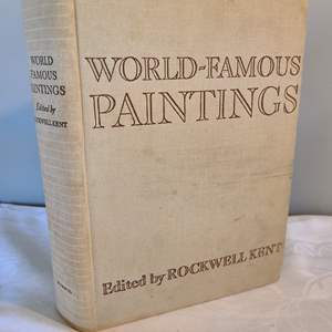 Lot # 129 - Large World Famous Paintings Book * 1939