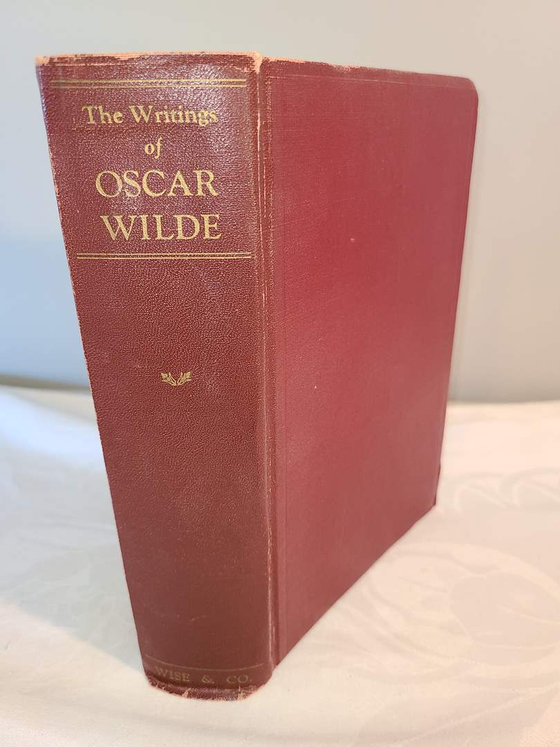 Lot # 135 - The Writings of Oscar Wilde Book * 1931 (main image)