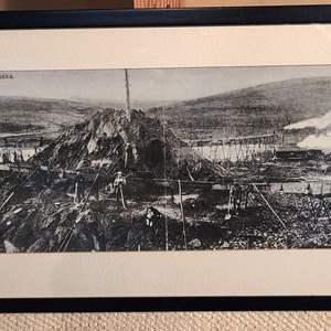 "Lot # 158 - ""A Mining Scene"" Fairbanks Alaska Early 1900's"