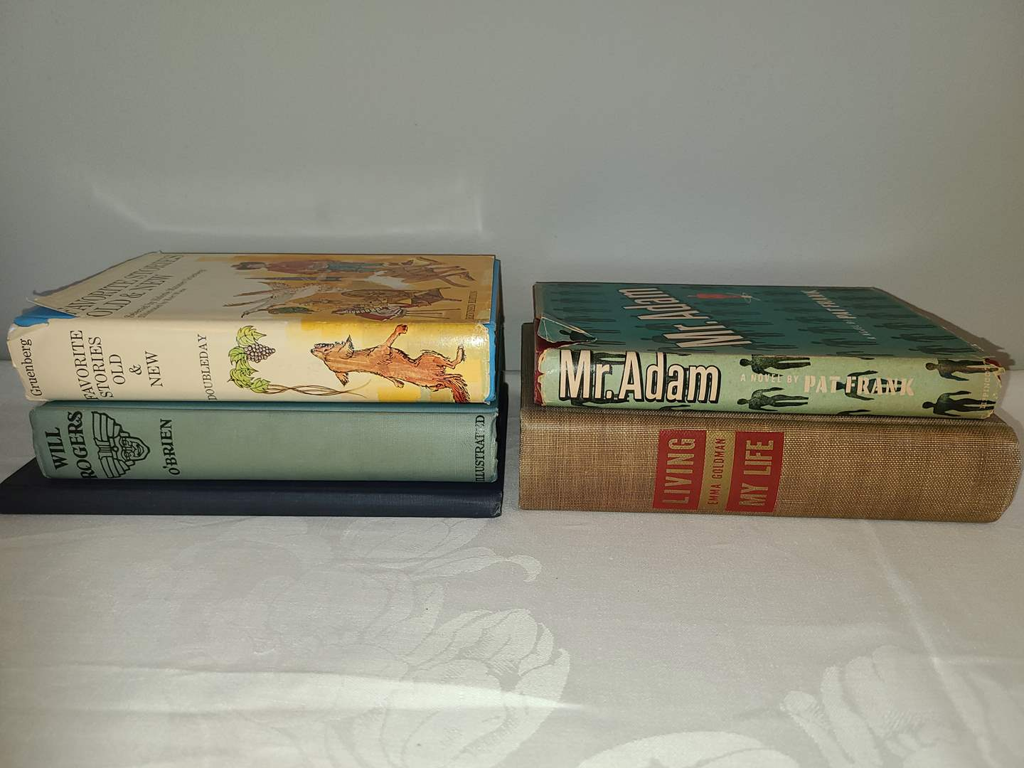 Lot # 168 - Books * Mr. Adam * Living my Life * Favorite Stories Old & New (main image)