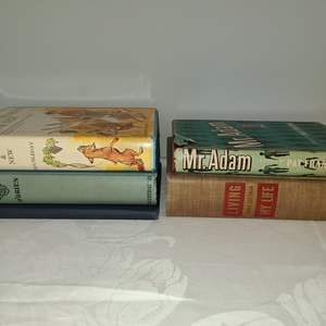 Lot # 168 - Books * Mr. Adam * Living my Life * Favorite Stories Old & New