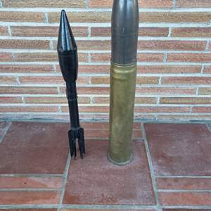 Lot # 22 - Collectible Munitions Reproductions * Huge Bullet