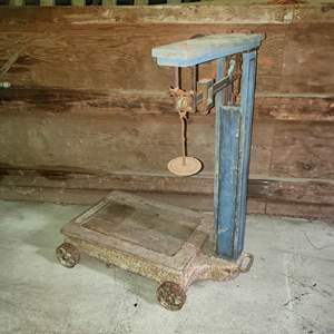 Lot # 71 - Fairbanks Morse Scale up to 1000 pounds max
