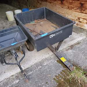 Lot # 74 - Agri-Fab Utility 10 Trailer  * Lawn Crafter