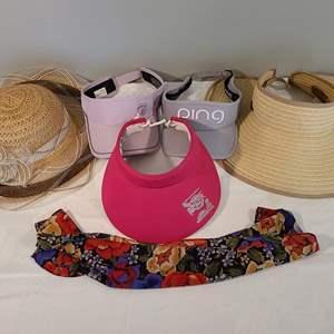 Lot # 106 - A fantastic Ladies Visor & Hat Lot * PING * SCALA *