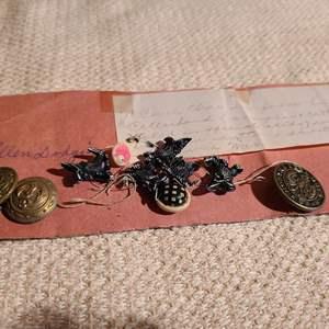 Lot # 163 - Civil War Buttons * Celluloid Buttons