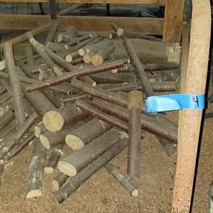 Lot # 184 - Seasoned Dried Firewood Stall 4