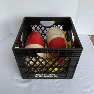 Auction Thumbnail for: Lot #99 - Small Selection of Crabbing Rope and Buoys