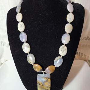Lot # 40 - Royal Jasper Necklace