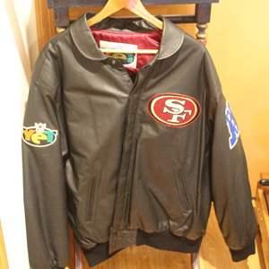 Auction Thumbnail for: Lot #68 - San Francisco 49er's Men's Jacket, Size XL