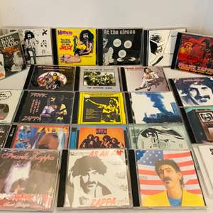 Auction Thumbnail for: Lot #233 - Collection of Frank Zappa CD's - Kill Ugly Radio Some More - Stonybrook - Frank Zappa And The Mothers