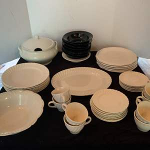 Lot #34 - Johnson Bros. England China and Other Patterns