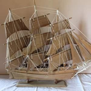 Lot #43 - Elaborate Tall Ship Model