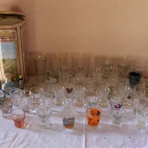Lot #54 - Large Selection of Different Shotglasses