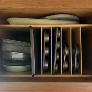 Lot #78 - Cake and Muffin Pans, Other Bakeware and More