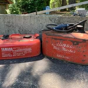 Lot #94 - Two Marine Fuel Tanks
