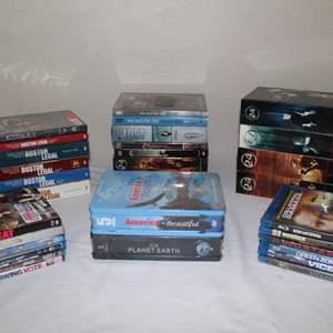 Lot #29 - DVDs: Singles & Sets. Titanic, America the Beautiful, Boston Legal, Lost & More