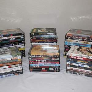 Lot #30 - DVDs: Chicago, Gotti, The Graduate, The Blind Side, Harry Potter Series & More