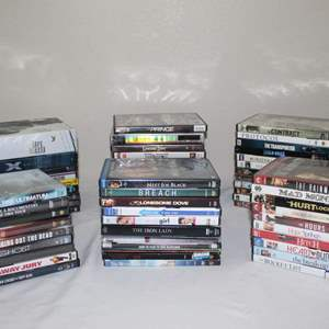Lot #31 - More DVDs: Argo, Ghost, Iron Lady, Hurt Locker, X Men, DaVinci Code and More