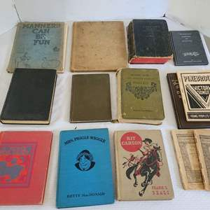 Lot #37 - Vintage Books: A Home for Sandy, Mrs. Piggle Wiggle, Kit Carson and More