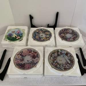 Lot #41 - The Bradford Exchange Signed and Numbered Collector Plates
