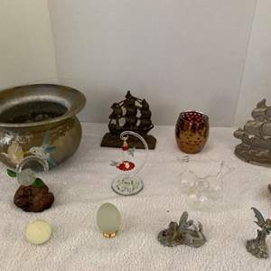 Lot #47 - An Eclectic Group of Table Decor